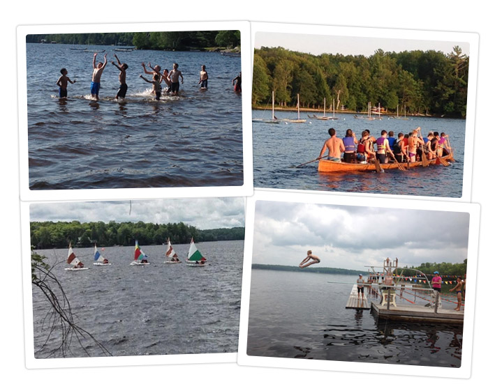 Water Sports Summer Camp for Boys - Canada